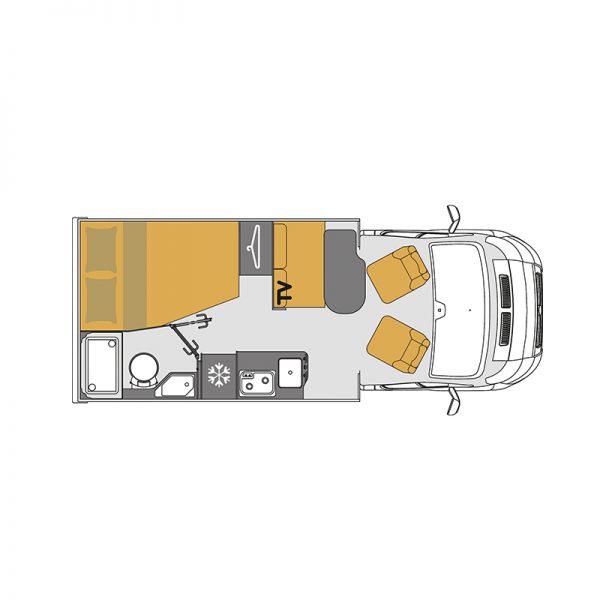 Wohnmobil Mooveo TEI-60FB