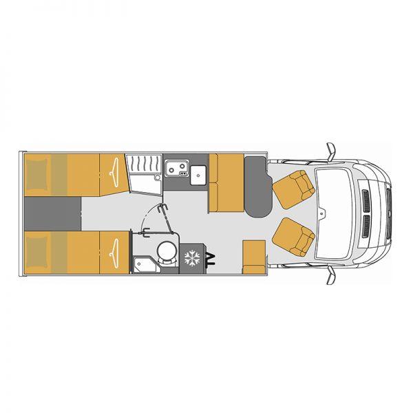 Wohnmobil Mooveo TEI-70EB