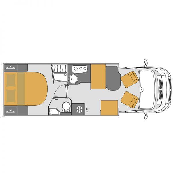 Wohnmobil Mooveo TEI-74QB