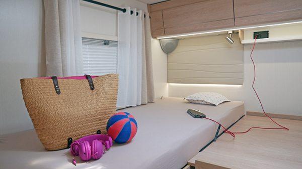 Wohnmobil kaufen neu Mooveo TEI 74EBH mit Einzelbetten