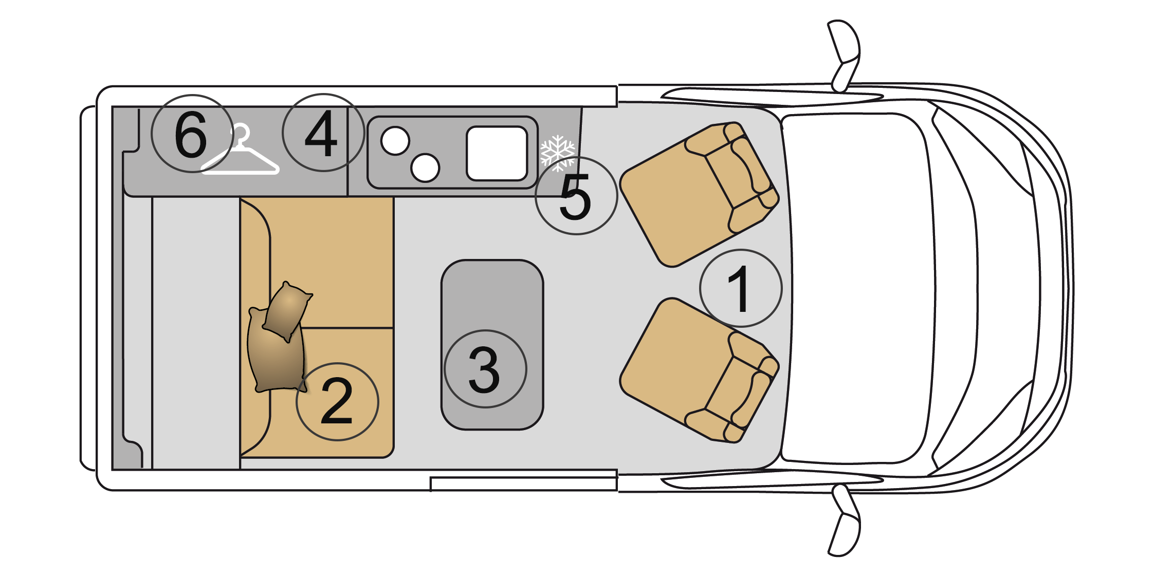 Campervan 2 Grundriss campingbus