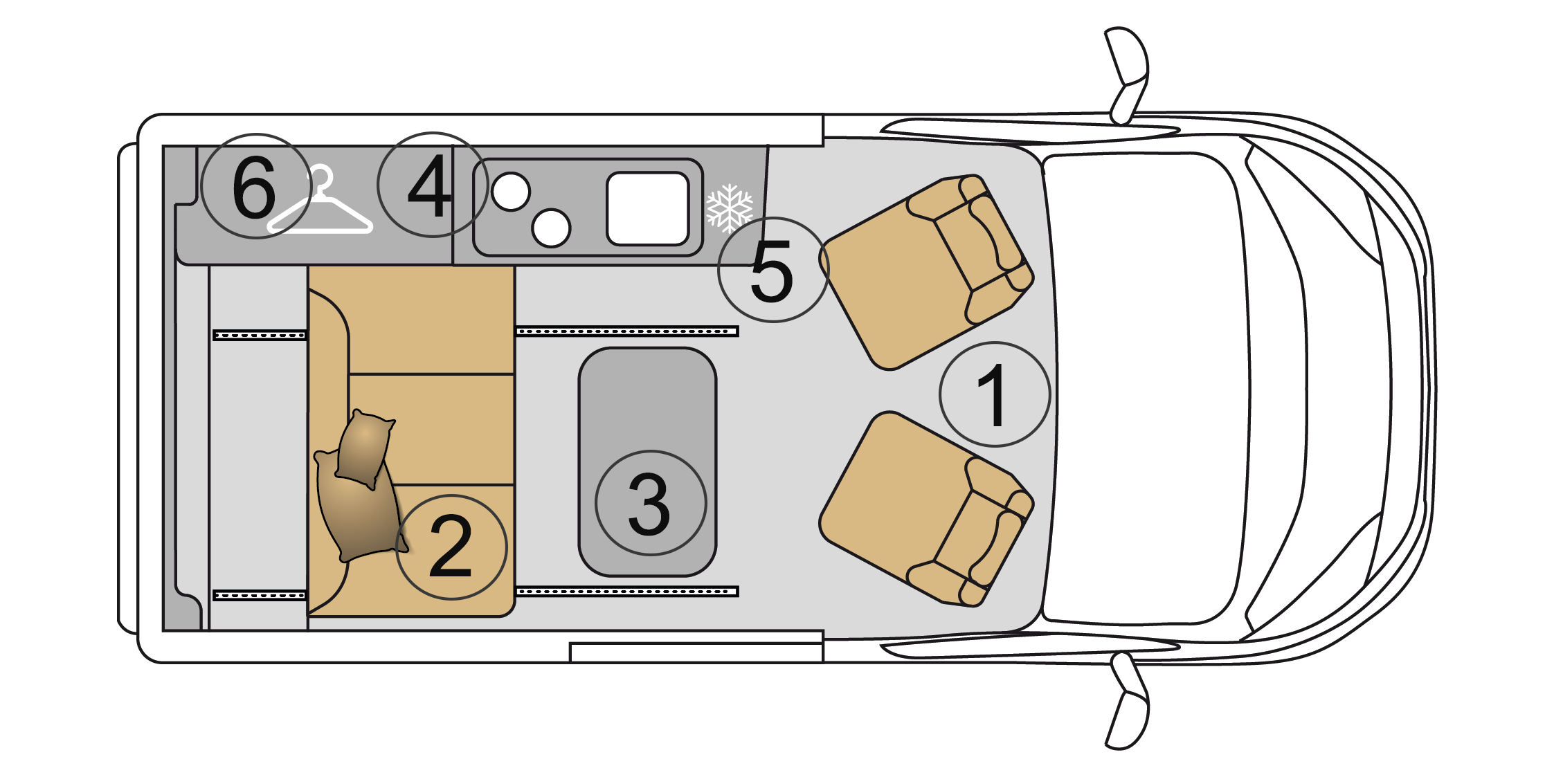 Campervan 3 Grundriss campingbus