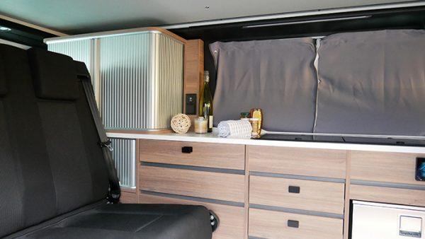 Mooveo Camper Van 3 Ansicht Wohnraum