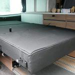Mooveo Camper Van 3 Ansicht-Sitzbank