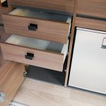 Mooveo Camper Van 3 Ansicht Schubfach Küche
