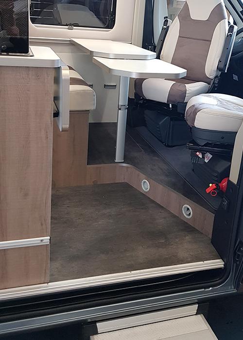 Wohnmobil kaufen neu 60DB Van Beinfreiheit