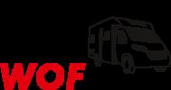 Wohnmobil mieten WOF RENT Logo
