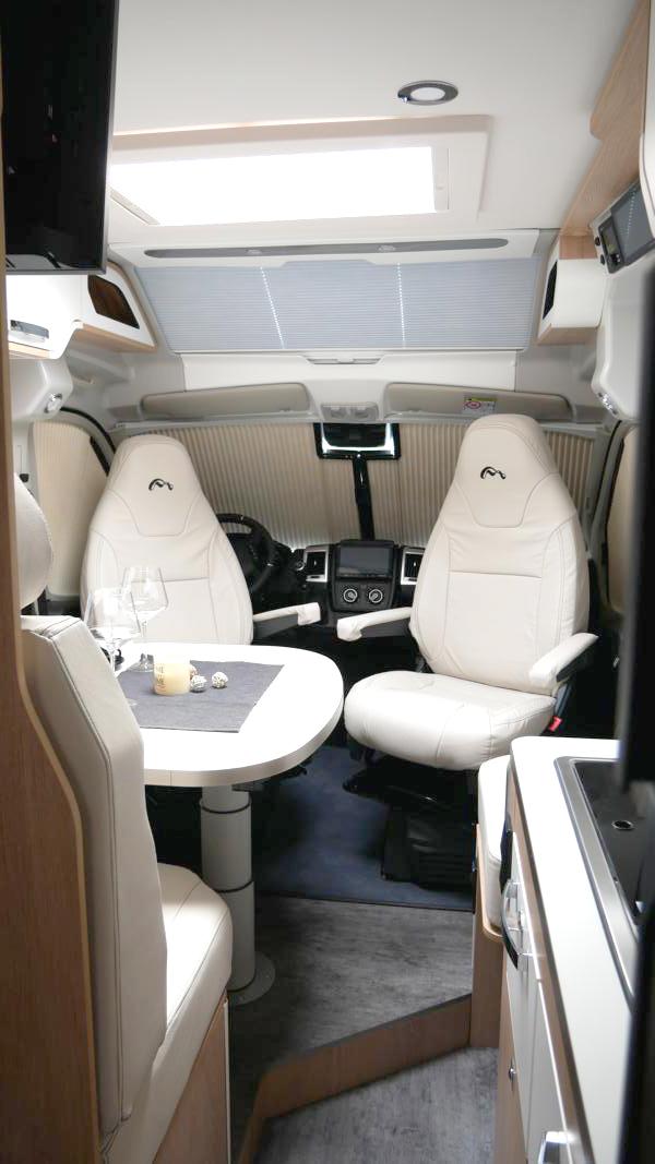 Wohnmobil kaufen neu Van 63DBL Innenraum
