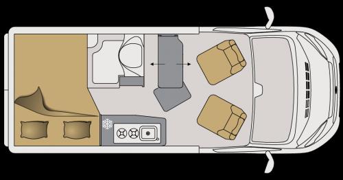 Wohnmobil kaufen Mooveo Van 54DBS