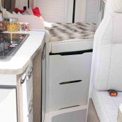 Kastenwagen Mooveo Van 54DB - Wohnraum
