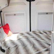 Kastenwagen Mooveo Van 54DB - Bett