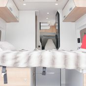 Kastenwagen Mooveo Van 60D - Bett