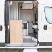 Kastenwagen Mooveo Van 60EB - Einstieg