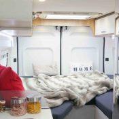 Kastenwagen Mooveo Van 60EB - Einzelbetten