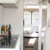 Kastenwagen Mooveo Van 63DBL - Küche
