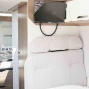 Kastenwagen Mooveo Van 63DBL - Sitzbank und TV