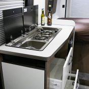 Mooveo Van 54DB Küchenbereich-Ansicht 1