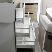 Kastenwagen Mooveo Van 63DBL - Schubladen mit soft close