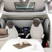 Mooveo Wohnmobil TEI-71FBH - Dinette