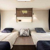 Wohnmobil TEI-74EB Einzelbetten im Heck