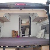 Wohnmobil kaufen neu Van-60DB Bett-Ansicht