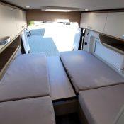 Wohnmobil kaufen neu Van-60EB Ansicht Stauraum Bett 02