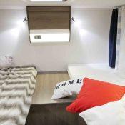Wohnmobil Mooveo TEI-70EB Schlafbereich 1